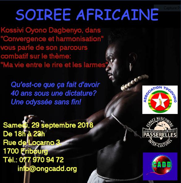 Soirée africaine