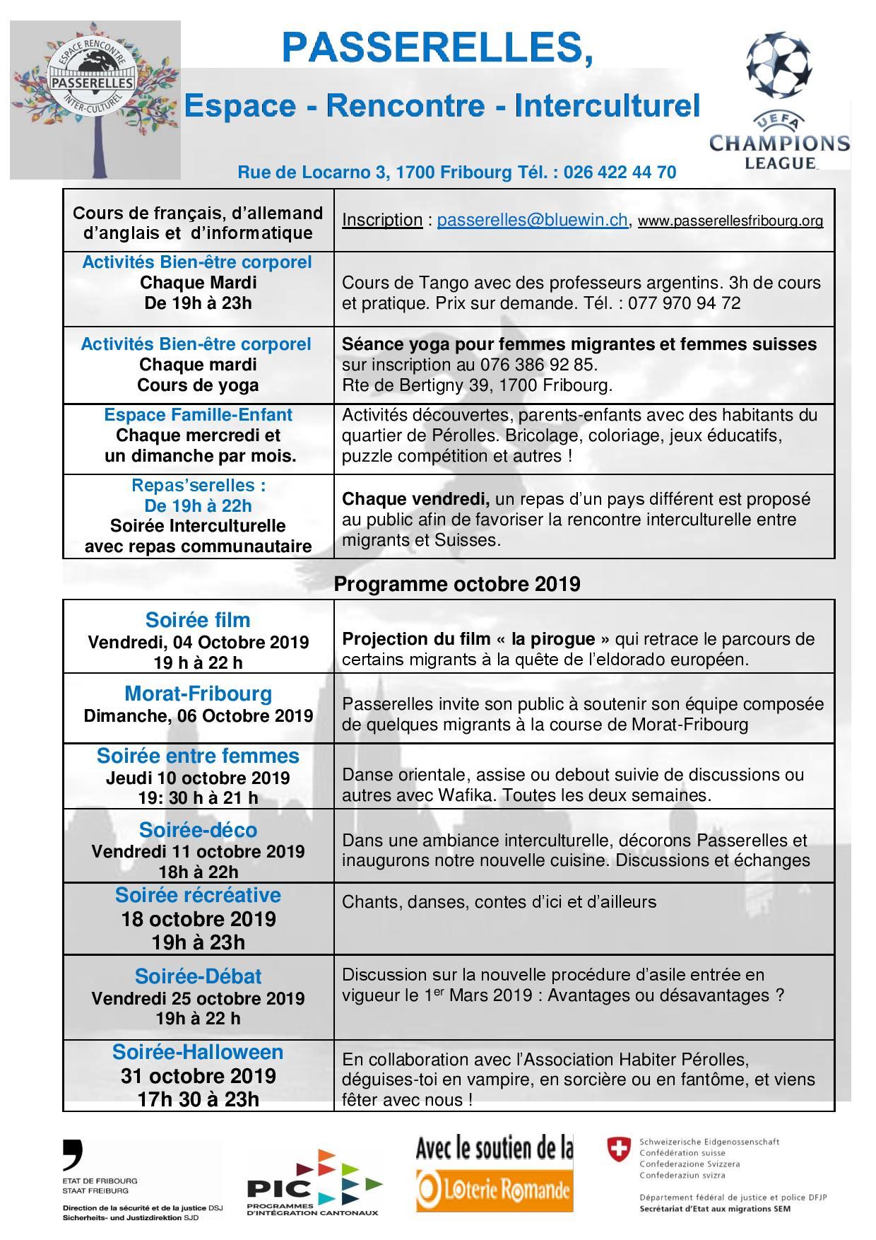 Programme 10-2019