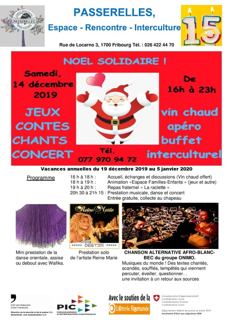 Noël solidaire 2019