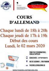 Cours d'Allemand 2020